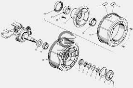 <b>Ступица переднего колеса</b> для автомобиля КАМАЗ 65115