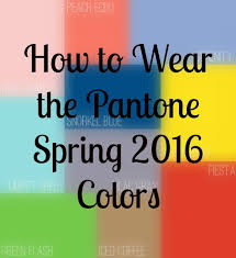 Image result for spring colours 2016