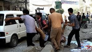 نتیجه تصویری برای شمار قربانیان یکشنبه خونین سوریه