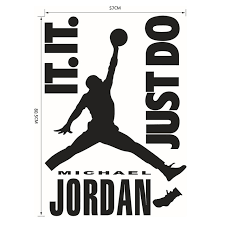 Майкл Джордан играть Баскетбол кавычки Just Do <b>It</b> винил ...
