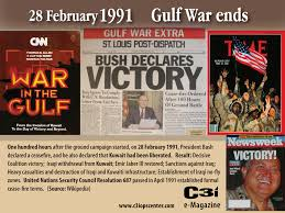gulf war ends liberated acirc ci ops center 28th 2014 category day in history