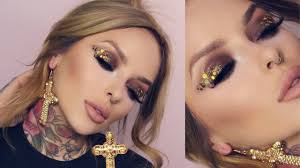 <b>SEXY GOLD GLITTER</b> NYE TUTORIAL + MAKING A CHANGE ...