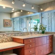 contemporary master bathroom with track lighting bathroom track lighting ideas
