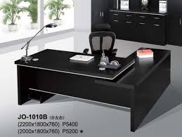 office table jo 1010b black office table