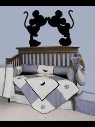 Minnie and <b>mickey mouse</b> | Home decor | Nautical crib bedding ...