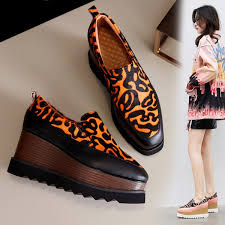 2019 <b>RY RELAA Women'S Sneakers</b> Leopard <b>Fashion</b> Cowhide ...