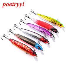 <b>POETRYYI</b> minnow <b>lure</b> sea freshwater <b>fishing</b> trout <b>lure</b> hard <b>bait</b> ...