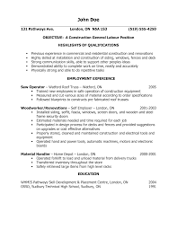 labor resume objective examples cipanewsletter cover letter general resume objective samples resume general