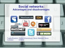social networks  advantages and disadvantagessocial networks  advantages and disadvantages  lt ul gt  lt li gt tugba bastürk