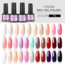 COSCELIA 7ml Gel Nail Polish 32 Colors Vernis Semi ... - Vova