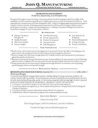 resume sample management  jpgproduction manager resume example