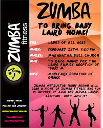 zumba fundraising night you re invited unspoken adoption introducing our first fundraising event
