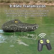 <b>JJRC MX 0030</b> RC Boat Simulation Crocodile Electric Racing Boat ...