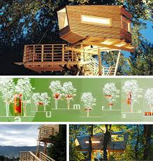 Amazing Tree Houses  Plans  Pictures  Designs  Ideas  amp  Kits    Modern but Traditional Tree House Design Architects