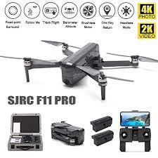 LOHOME SJRC <b>F11 PRO</b> Drone <b>4K</b> Photo 2K Vi- Buy Online in Isle ...