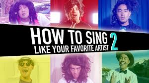 how to sing like your favorite artist pt