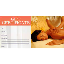 Gift Certificate – Adam and Eve Day Spa