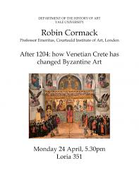 welcome department of the history of art how venetian crete has changed byzantine art