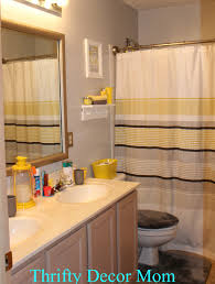 deco bathroom accessories photo overview  brilliant gray and yellow bathroom decor francesandian  jul   and yel