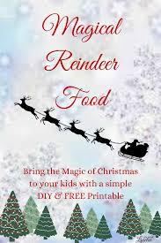 magical reindeer food printable life lorelai this simple christmas tradition will bring joy and magic to your child this holiday make