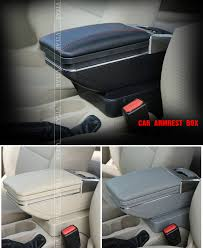 Vtear for Suzuki Jimny <b>car armrest</b> leather <b>arm</b> rest usb storage box ...