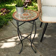 Outdoor <b>Mosaic Side Table</b> | Wayfair
