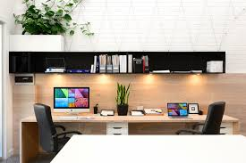 studio 11 kiama mid sized danish home studio photo in wollongong with white walls and a amazing build office desk