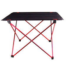 <b>Portable Foldable Folding</b> Table Desk Camping Outdoor Picnic ...