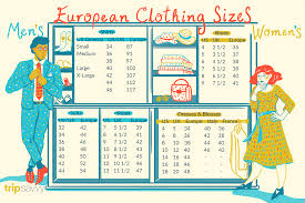 <b>European Clothing Sizes</b> and <b>Size</b> Conversions
