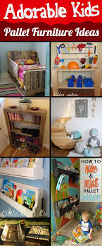 20 incredibly useful and adorable kids pallet furniture inspirations bedroomeasy eye upcycled pallet furniture ideas