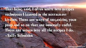 Sally Schneider Quotes - Inspirations.in