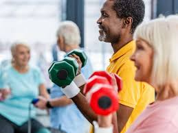Exercise after the age of <b>60</b> may prevent heart disease, stroke