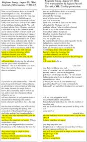 polygamy the ces letter a closer look there is no mention that all men and women in the celestial kingdom will be polygamists