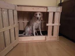 homemade wooden dog crate youtube furniture style dog crates