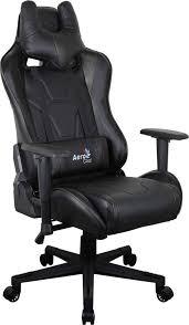 Купить <b>Кресло</b> игровое <b>AEROCOOL AC220</b> AIR-B, черный в ...