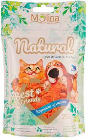 <b>Лакомство Molina Natural Best</b> Friends для собак и кошек ...