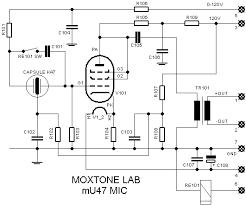 journey into the legend of the u mu47 microphone schematic