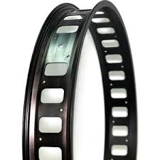 <b>Колесо NANDUN обод</b> MX-80S 24x32H,80mm (Fatbike) черный с ...