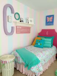 Pottery Barn Girls Bedroom Twin Girls Room Makeover With Upholstered Monogramed Headboards