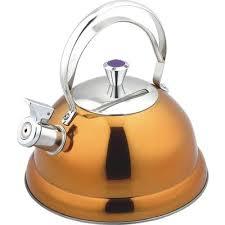 <b>Чайник</b> со свистком Bekker De Luxe нержавеющая сталь <b>2.6 л</b> в ...
