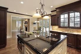 cabinets black island kitchen cabinet countertop