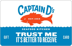 Buy Captain D's Gift Cards   GiftCardGranny