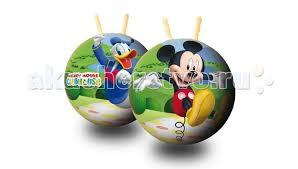 Мяч-<b>прыгун</b> Микки Маус 50 см <b>Unice</b> — купить в Москве в ...