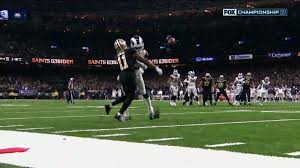 Officials miss blatant pass-interference penalty, leading to Rams ...