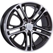 <b>WSP Italy</b> BMW W677 X3 <b>XENIA</b> DIAMOND BLACK POLISHED