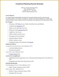 resume examples of objectives  socialsci coresume
