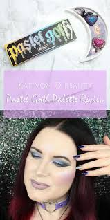 best ideas about the alchemist review the kat von d pastel goth palette