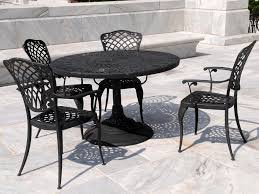 cast iron patio furniture black black wrought iron patio