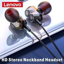 Original <b>Lenovo HE08 Wireless</b> Earphone 4 speaker Sports New ...