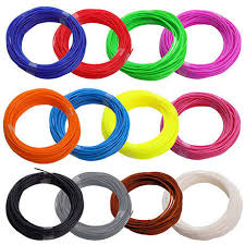 <b>Набор ABS пластика</b> для 3д ручек <b>12</b> цветов по 5 метров, цена ...